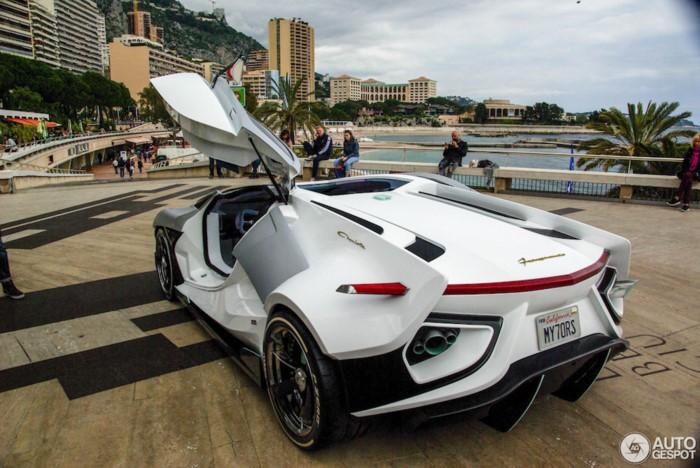 Công suất của siêu xe FV-Frangivento Asfanè