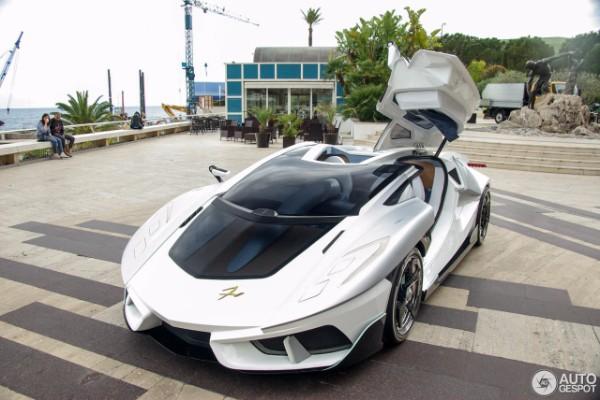Siêu xe FV-Frangivento Asfanè ra mắt