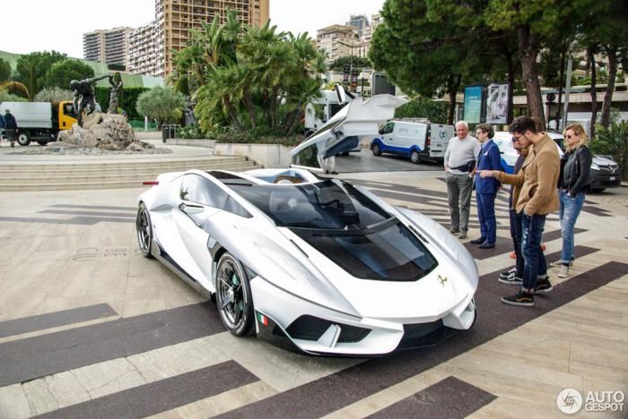 Thiết kế của siêu xe FV-Frangivento Asfanè