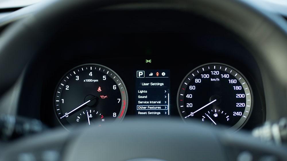 cụm đồng hồ Hyundai Tucson CKD 2017 18