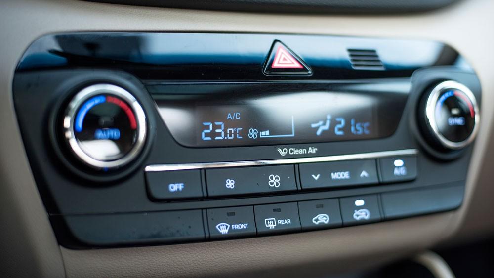 nút điều chỉnh Hyundai Tucson CKD 2017 20
