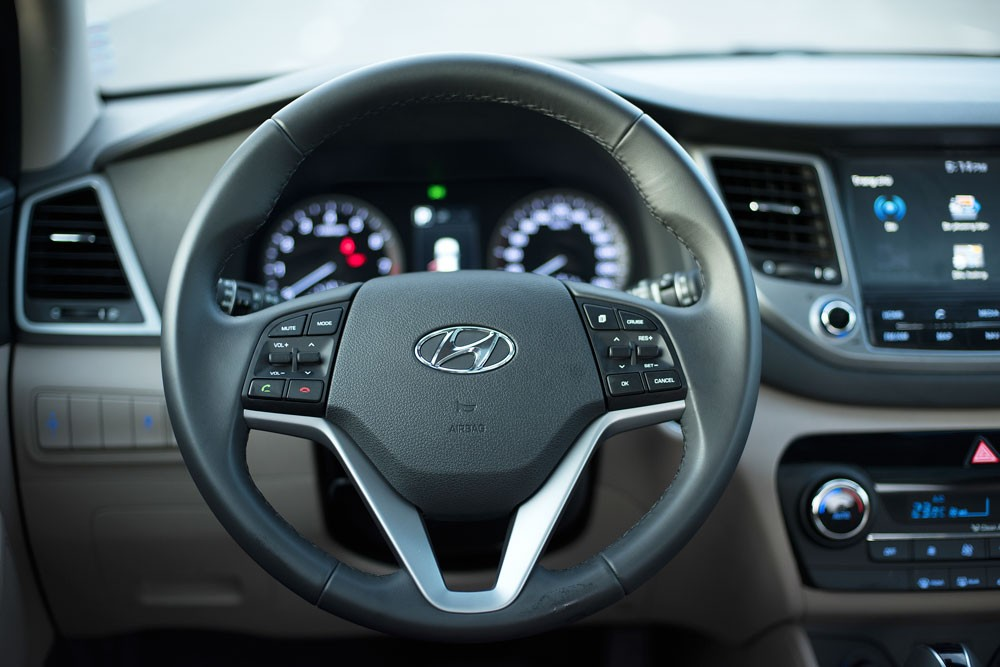 vô lăng Hyundai Tucson CKD 2017 16