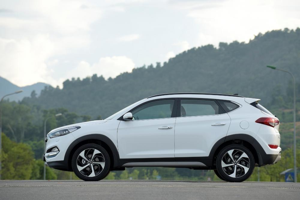 thân xe Hyundai Tucson CKD 2017 6