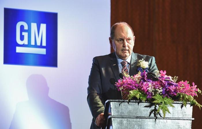 Ian Nicholls, Chủ tịch GM Đông Nam Á
