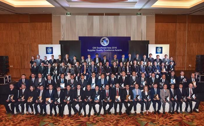 GM vinh danh nhà cung cấp khu vực Đông Nam Á