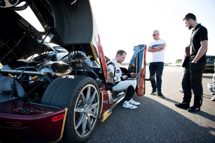 Chiến tích của Koenigsegg Agera RS