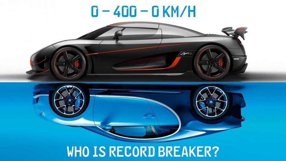Koenigsegg Agera RS đánh bại Bugatti Chiron