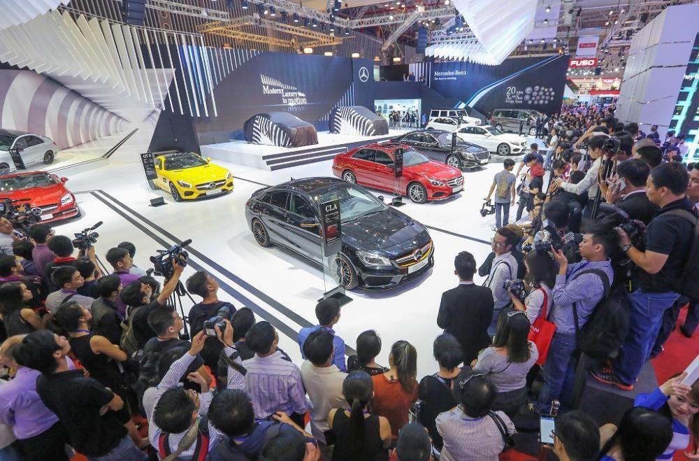 Mercedes sẽ giới thiệu 4 dòng xe chiến lược tại VIMS 2017 1