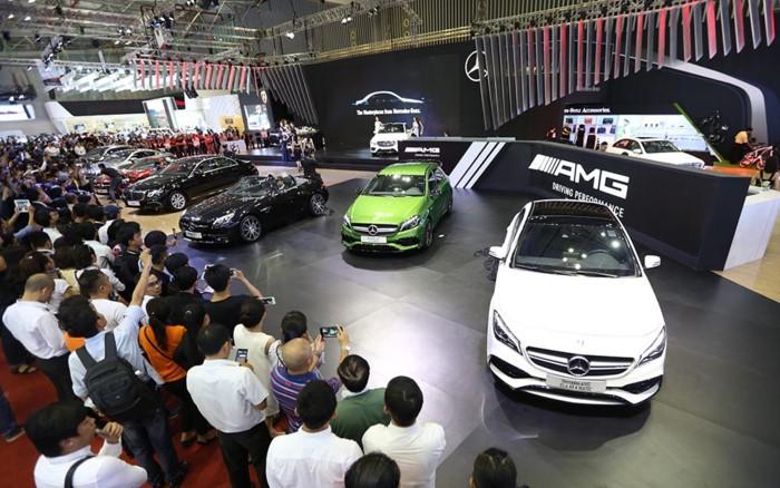 Mercedes sẽ giới thiệu 4 dòng xe chiến lược tại VIMS 2017 2