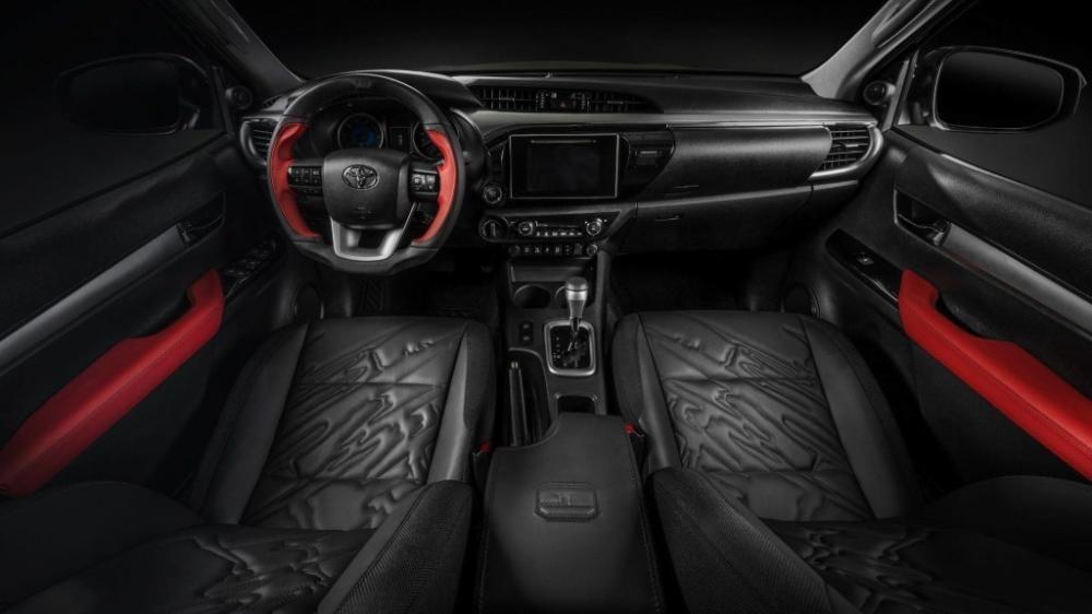 vô lăng Toyota Hilux 9
