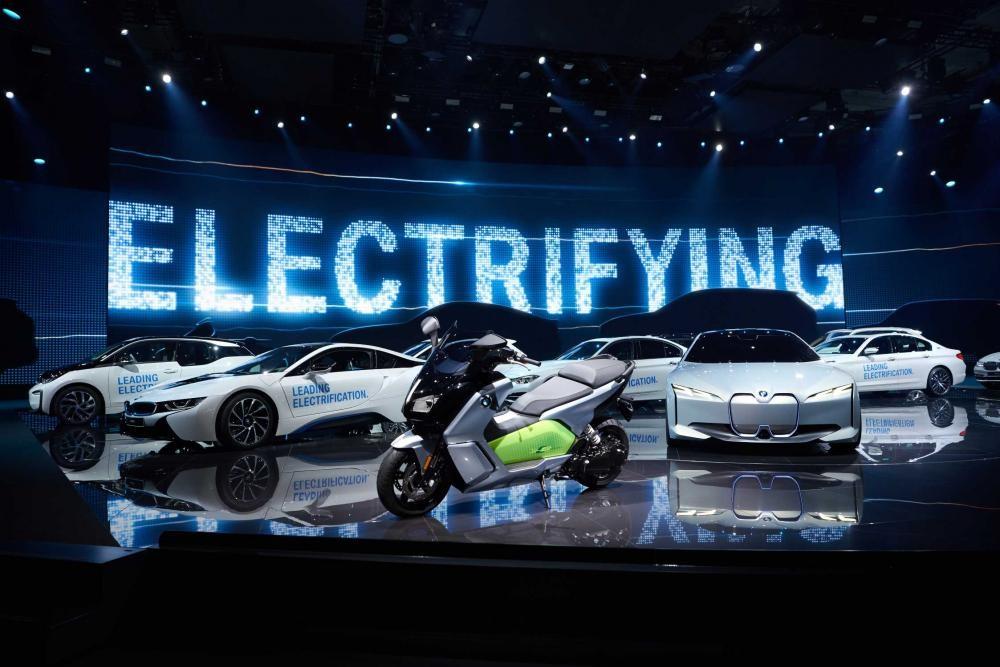 Kế hoạch phát triển xe điện của BMW