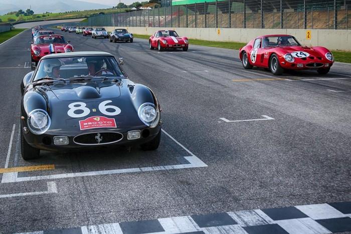 Ferrari 250 GTO tại đường đua Mugello