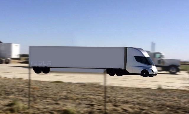 Bản phác thảo Tesla Semi