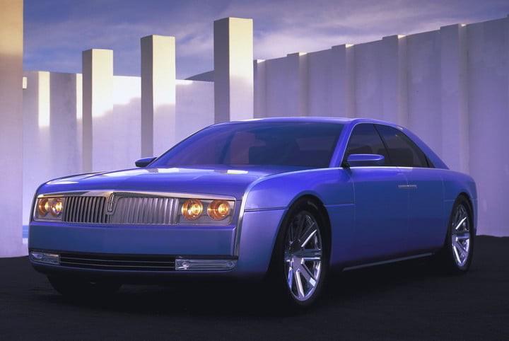 Lincoln Continental 2002 8