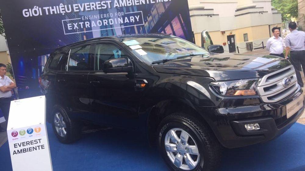 Ford Everest bổ sung phiên bản số sàn tại Việt Nam 1