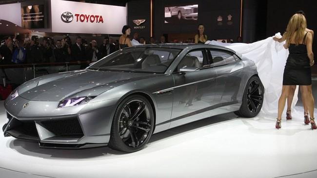 Sedan Lamborghini sẽ đi vào thực tiễn trong tương lai 1