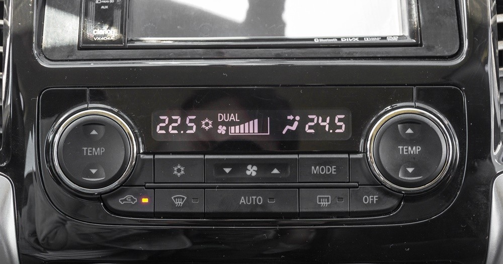 Hệ thống điều hòa trên Mitsubishi Triton 2017