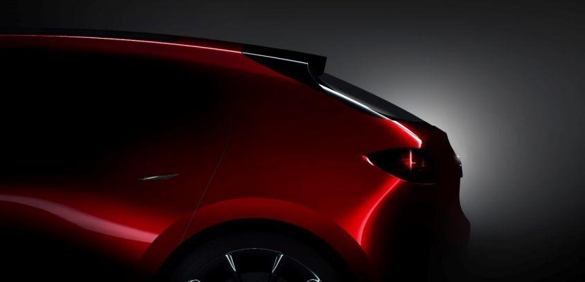 Lộ ảnh concept Mazda 3 thế hệ mới trước thềm triển lãm Tokyo 2017 1