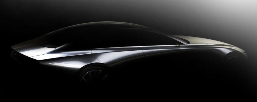 Teaser nhá hàng phiên bản mới của Mazda 3