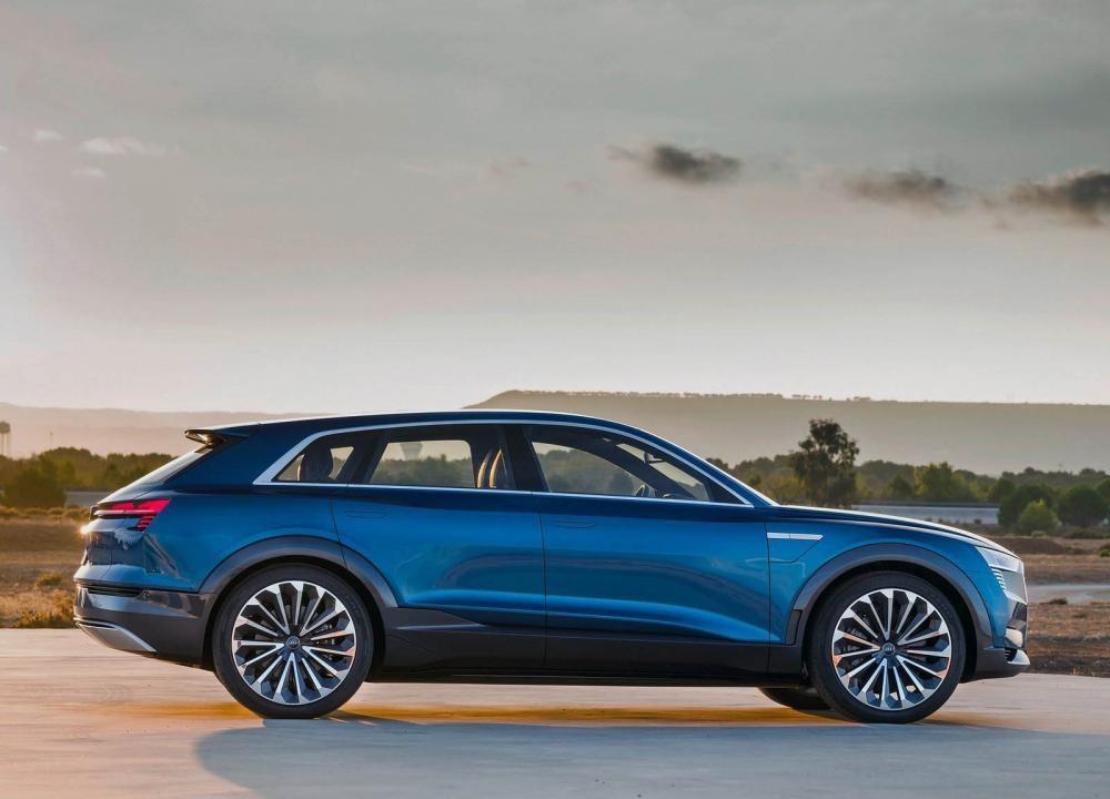 Thiết kế thân xe của Audi e-Tron Quattron