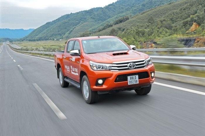 Doanh số xe Toyota Hilux