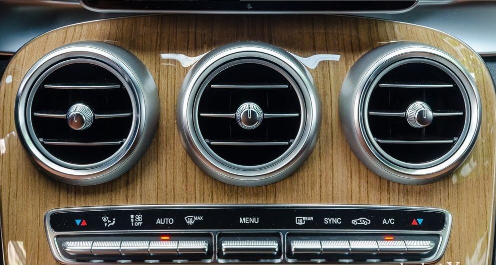 Hệ thống điều hòa của Mercedes-Benz GLC-Class 2017