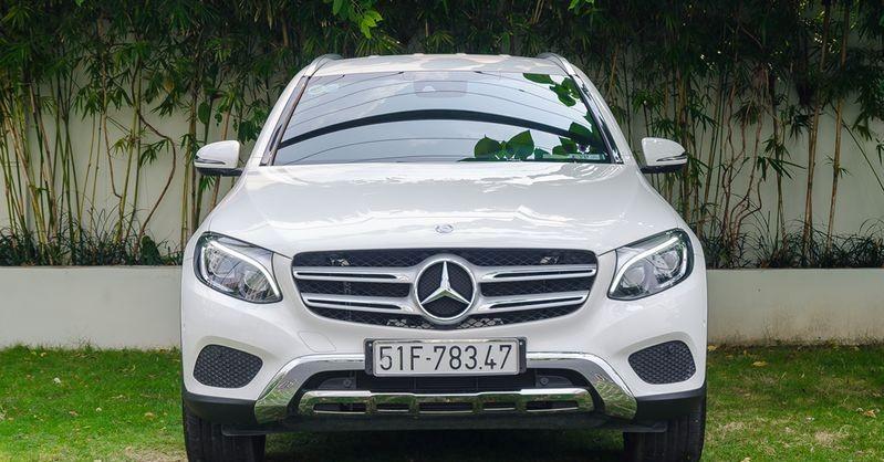 Đầu xe của Mercedes-Benz GLC-Class 2017