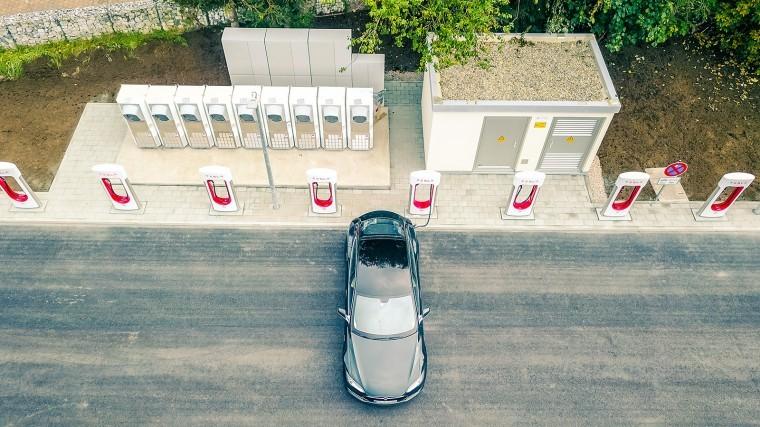 Trạm sạc xe điện của Tesla
