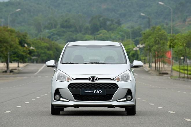 Đầu xe Hyundai Grand i10 2017 2