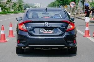 Đuôi xe của Honda Civic 2017