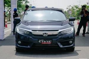 Đầu xe của Honda Civic 2017