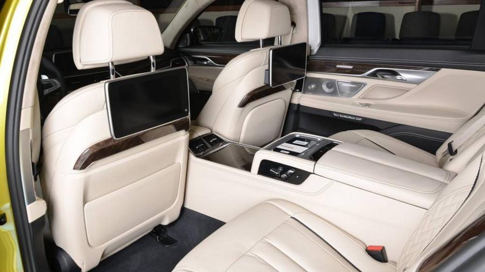 nội thất BMW M760Li 8