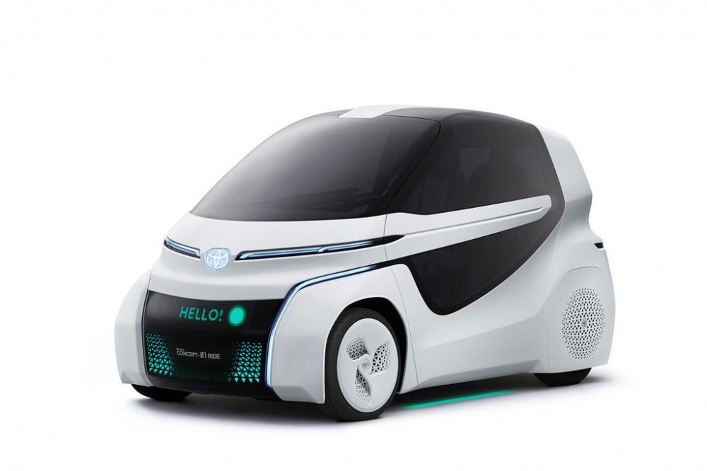 Toyota Concept-i Ride có ngoại hình hướng về tương lai 2