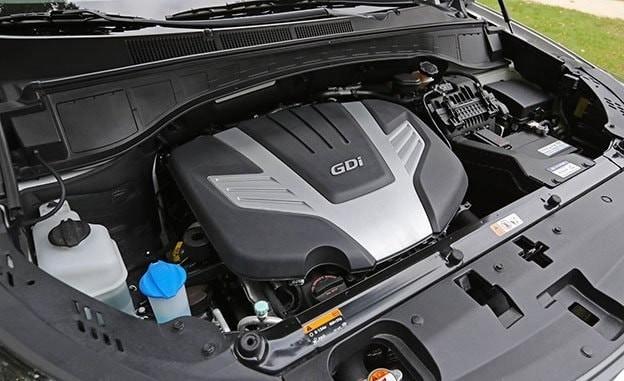 Động cơ của Hyundai SantaFe 2017 và Nissan X-Trail 2017