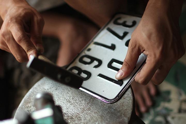 Lỗi dùng xe có biển số bị mờ bị phạt ra sao?
