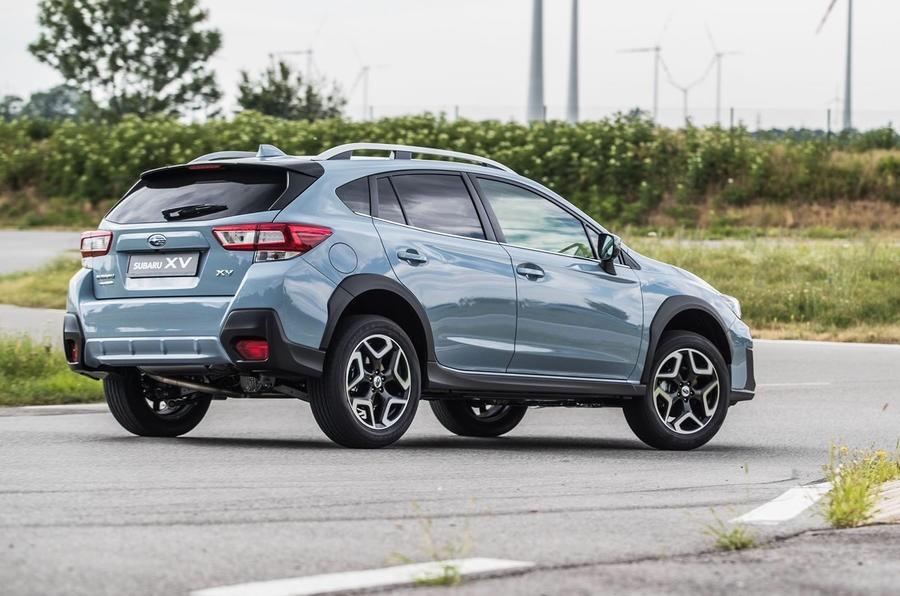 đuôi xe Subaru XV 2018 2