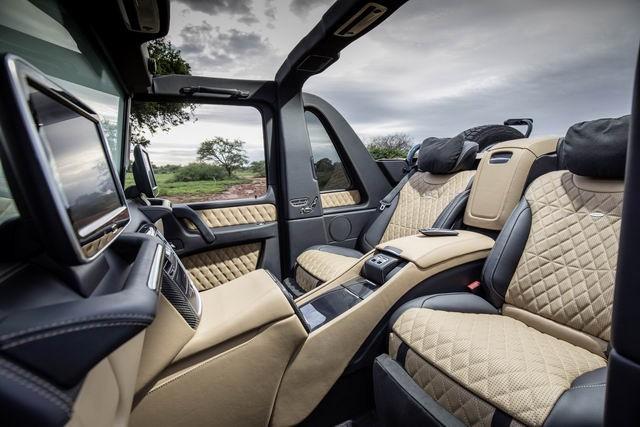 Trang bị nội thất hiện đại của Mercedes-Maybach G650