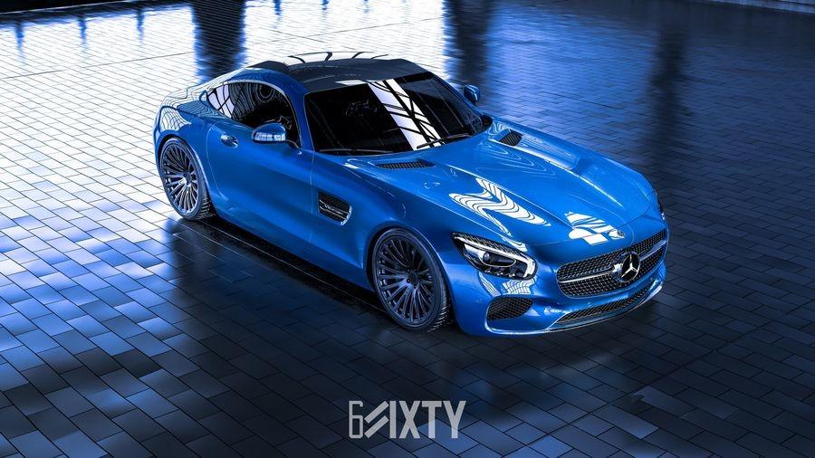 đầu xe Mercedes-AMG GT 2