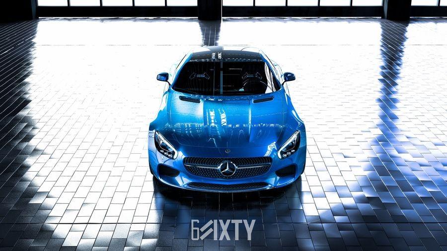 đầu xe Mercedes-AMG GT 6