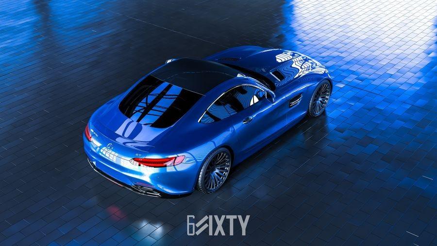 đuôi xe Mercedes-AMG GT 7