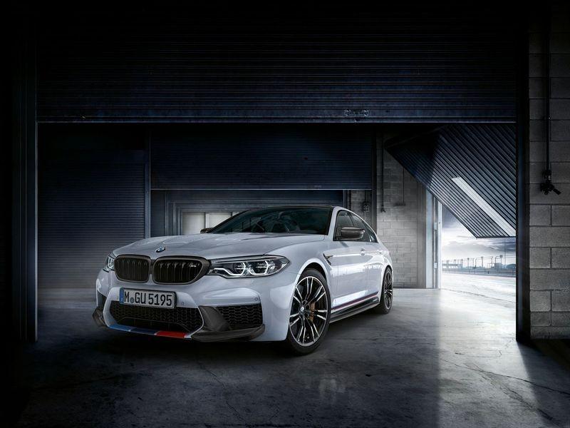 đầu xe BMW M5 M Performance Parts 2018 3