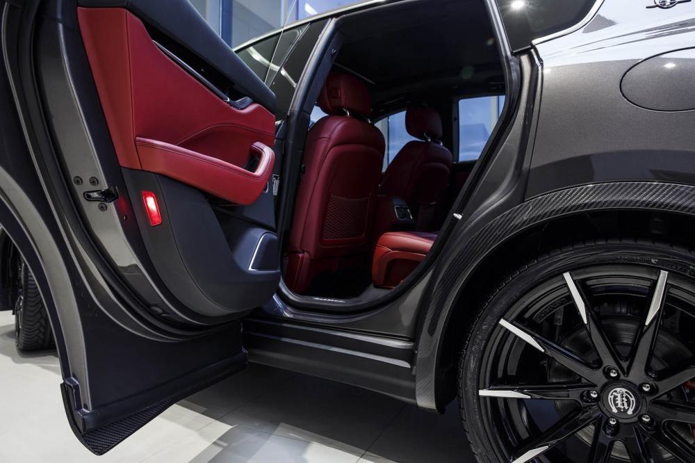nội thất Maserati Levante S 12