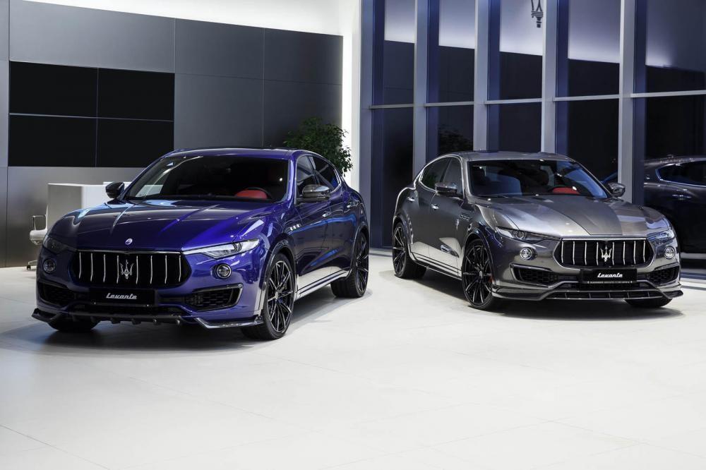 cặp đôi Maserati Levante S 1