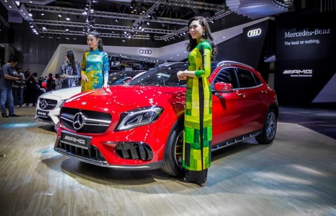 Mercedes GLA 45 AMG 2018