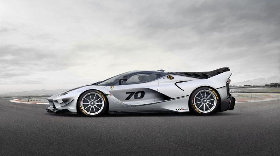 Động cơ của Ferrari FXX K Evo