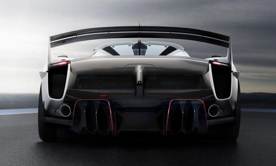 Ferrari nâng cấp khí động học cho siêu phẩm mới