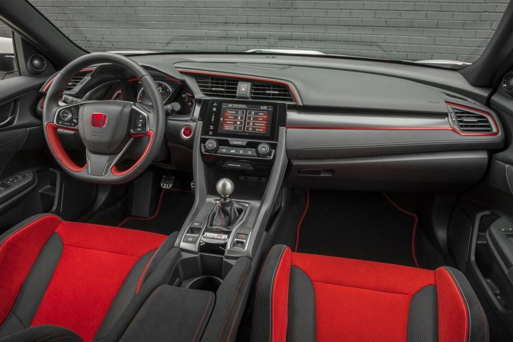 Cabin của Honda Civic Type R