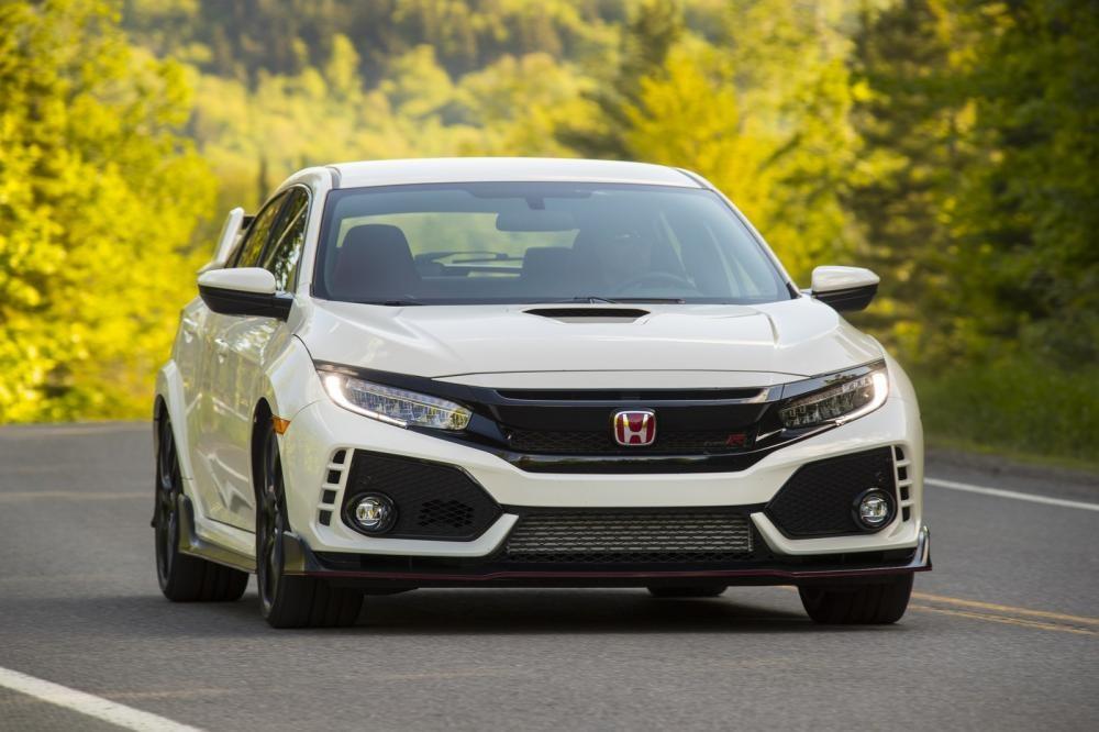 Đầu xe của Honda Civic Type R