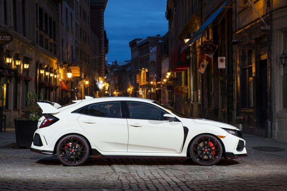 Thân xe của Honda Civic Type R