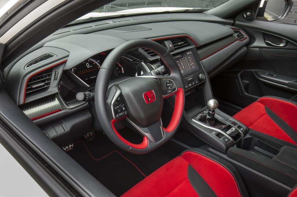 Vô lăng của Honda Civic Type R